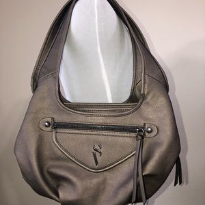 SV by Vera Wang Shoulder Purse Grey/Silver